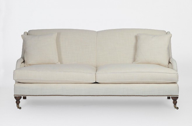 Two Seater Sofa Upholstered Charleston Gabby Luxury