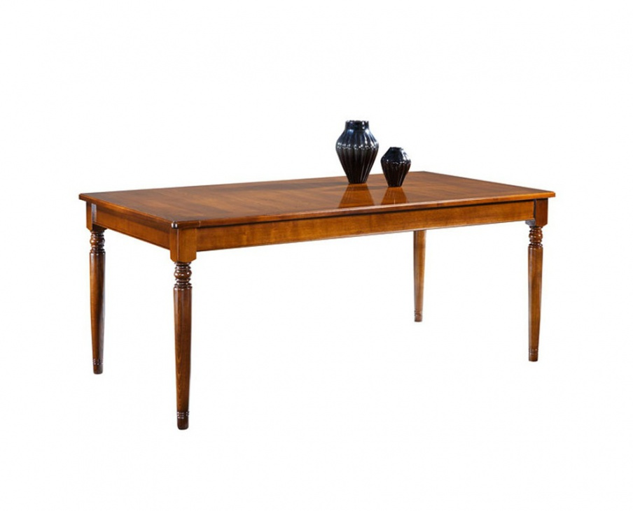 Dining extendable table louis philippe selva luxury for Table louis philippe