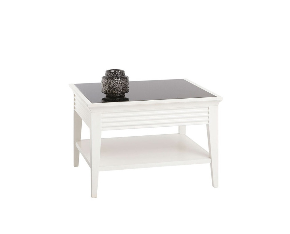Coffee Table With Bottom Shelf Luna Selva Luxury Furniture Mr