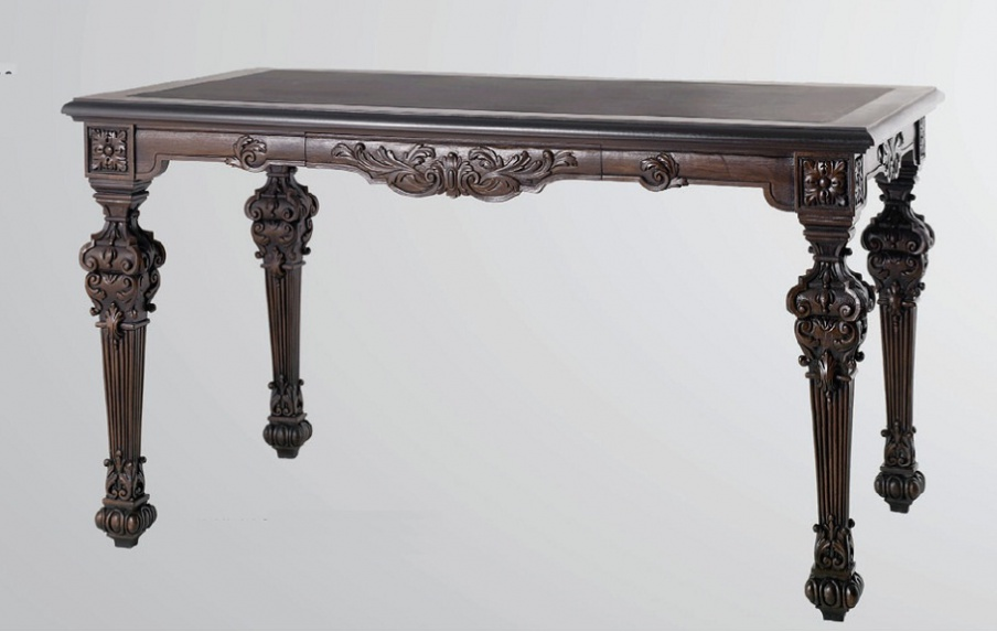 The Work Table Solid Wood Carved