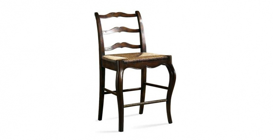 Chair With Wicker Seat, CTH/Sherrill Occasional