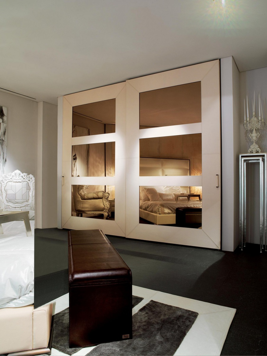 Wardrobe with sliding doors Piv T, Rugiano