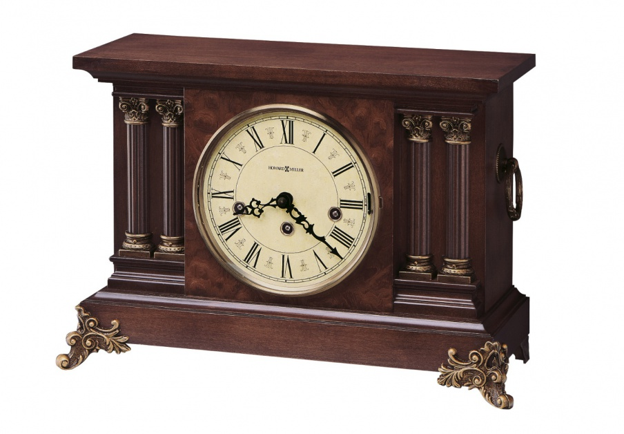 Circa Desk clock with wooden frame Howard Miller Luxury