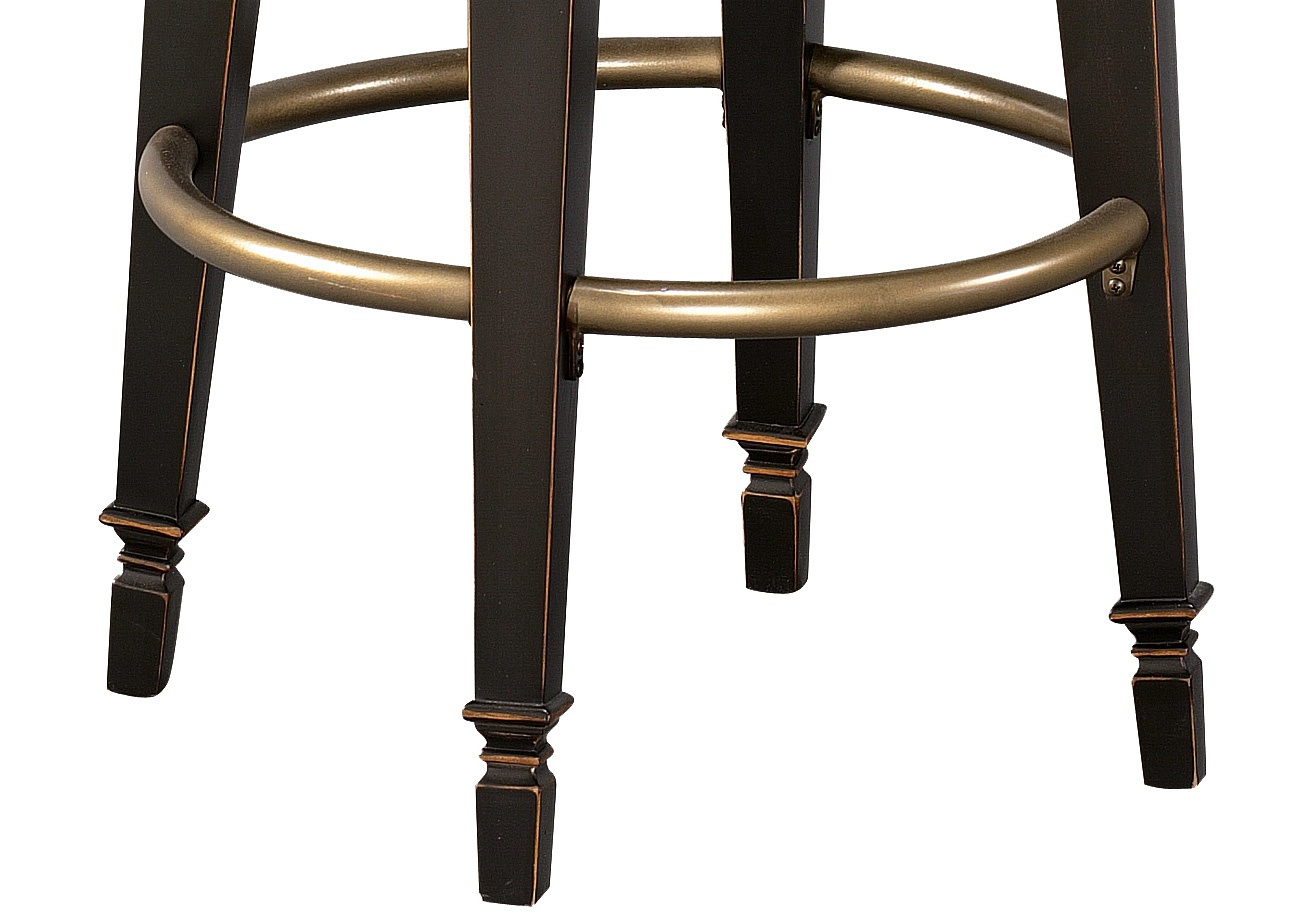 Superb img of Bar stool with armrests Northport from hard wood Howard Miller  with #936338 color and 1315x914 pixels