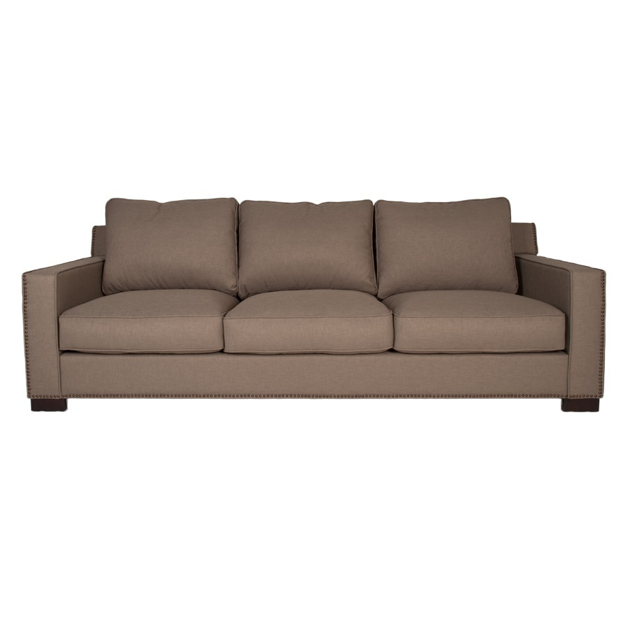 Three seater sofa with high back collins orient express for Divan xpress