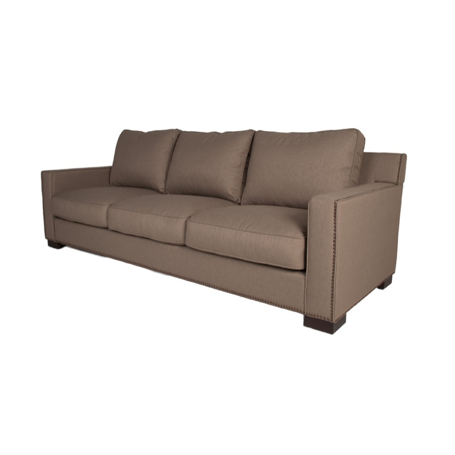 Three seater sofa with high back Collins Orient Express