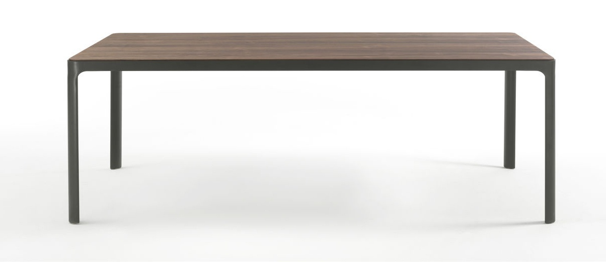 Table with lacquered metal frame hug riva 1920 luxury - Dimension table rectangulaire ...
