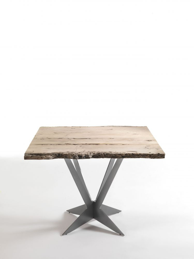 Table with square table top of the Tavolo, Riva 1920