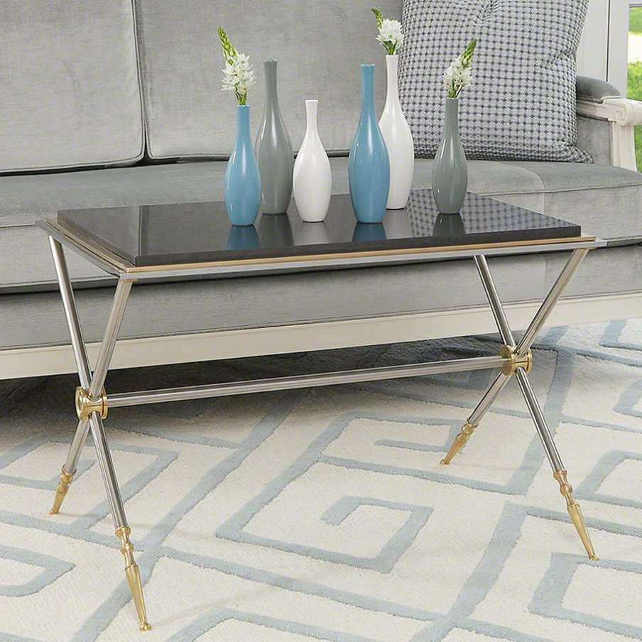 Campaign Rectangular Coffee Table Global Views Luxury Furniture Mr