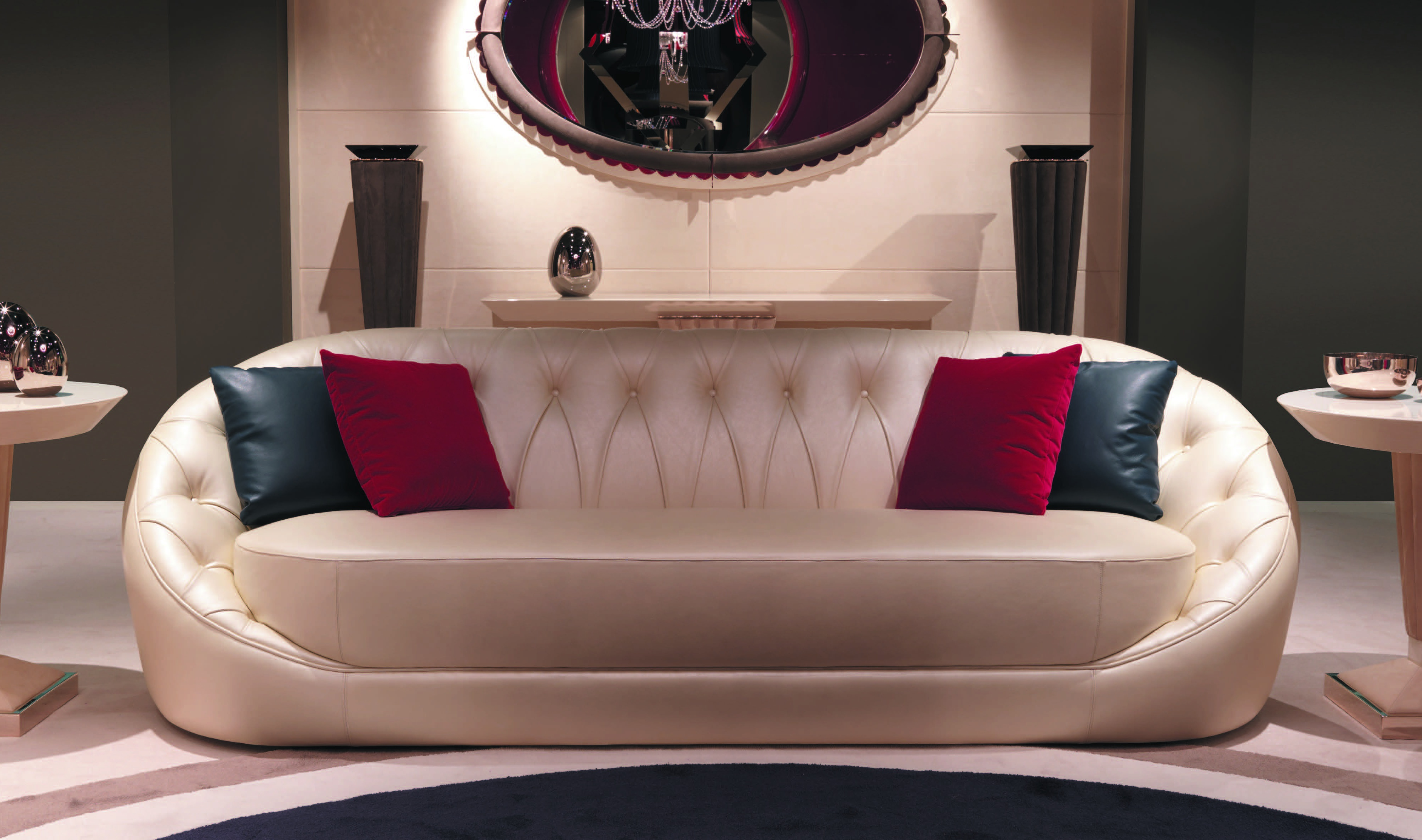 Living Room Sofa Set Designer Orion Turri Luxury