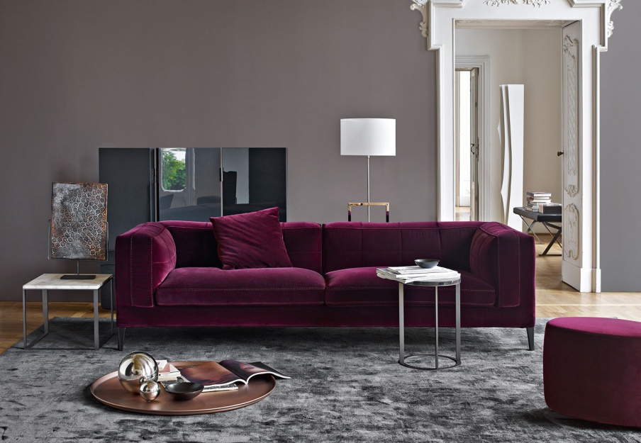 Triple Dives In Textile Sofa Upholstery, Maxalto