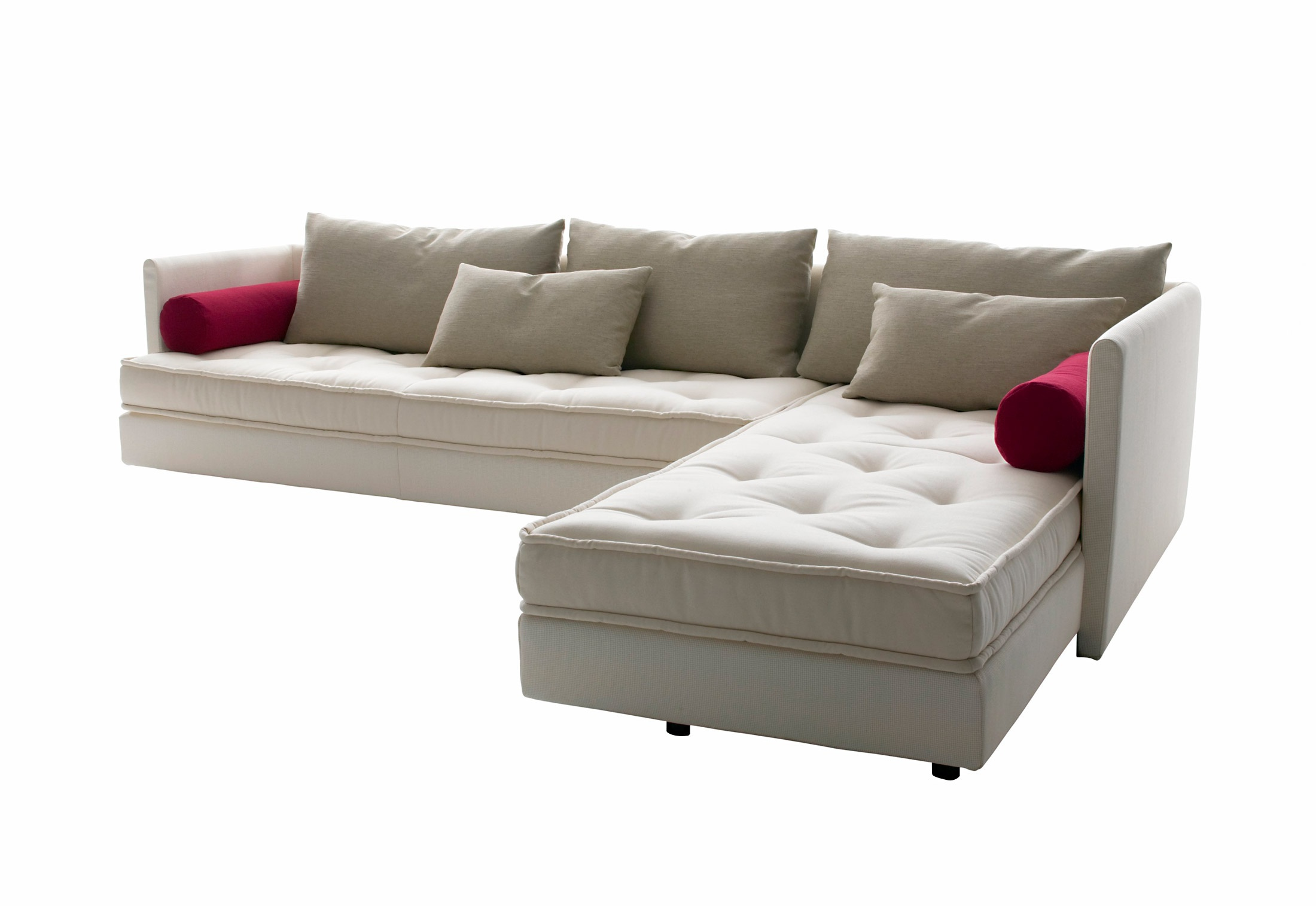 modular sofa in fabric nomade ligne roset luxury. Black Bedroom Furniture Sets. Home Design Ideas