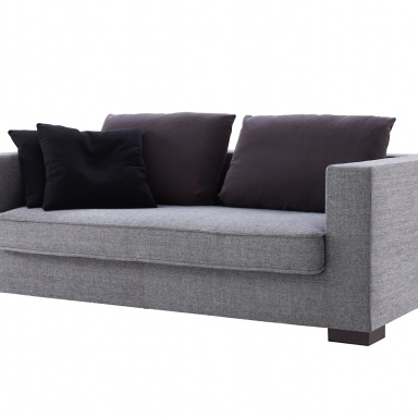 the sofa bed in fabric rive gauche ligne roset luxury. Black Bedroom Furniture Sets. Home Design Ideas