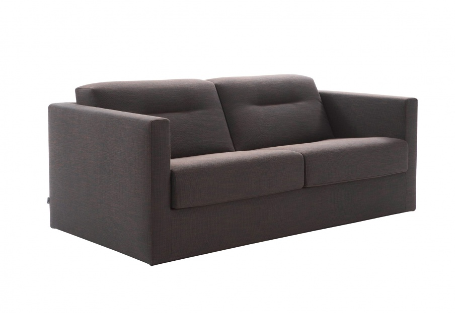 the sofa bed in fabric mostra ligne roset luxury. Black Bedroom Furniture Sets. Home Design Ideas