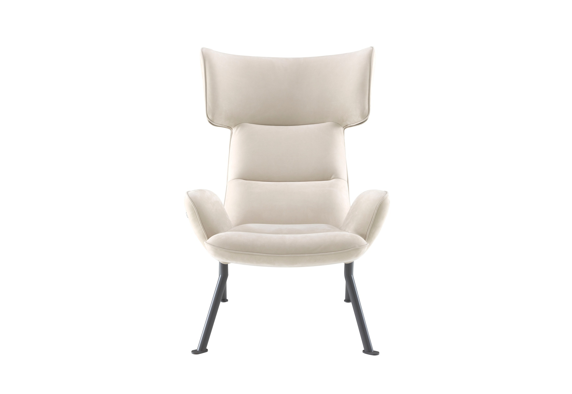 Chair with metal frame in fabric @CHAIR, Ligne Roset ...