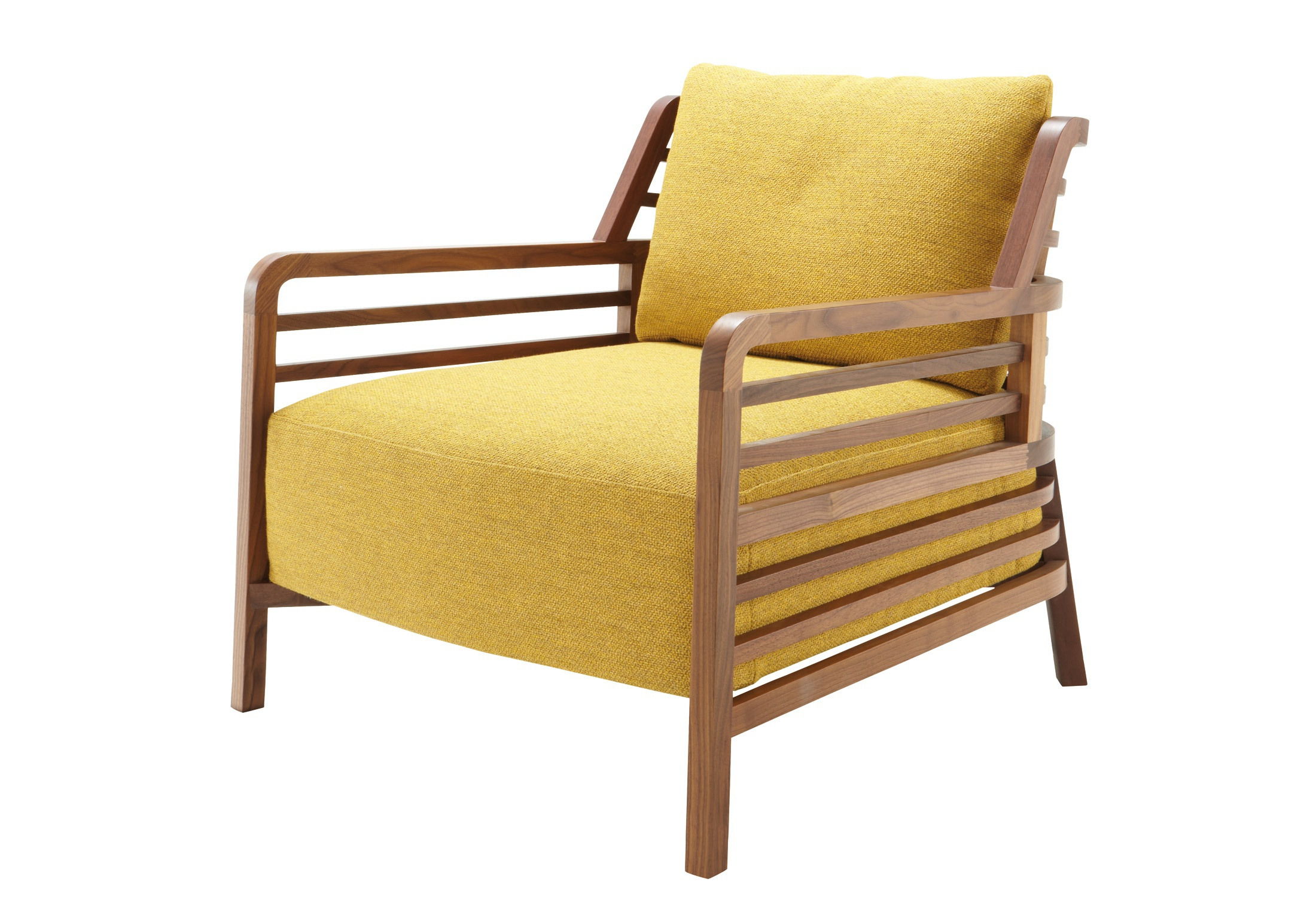 Chair Made Of Natural Wood In Flax Fabric Ligne Roset