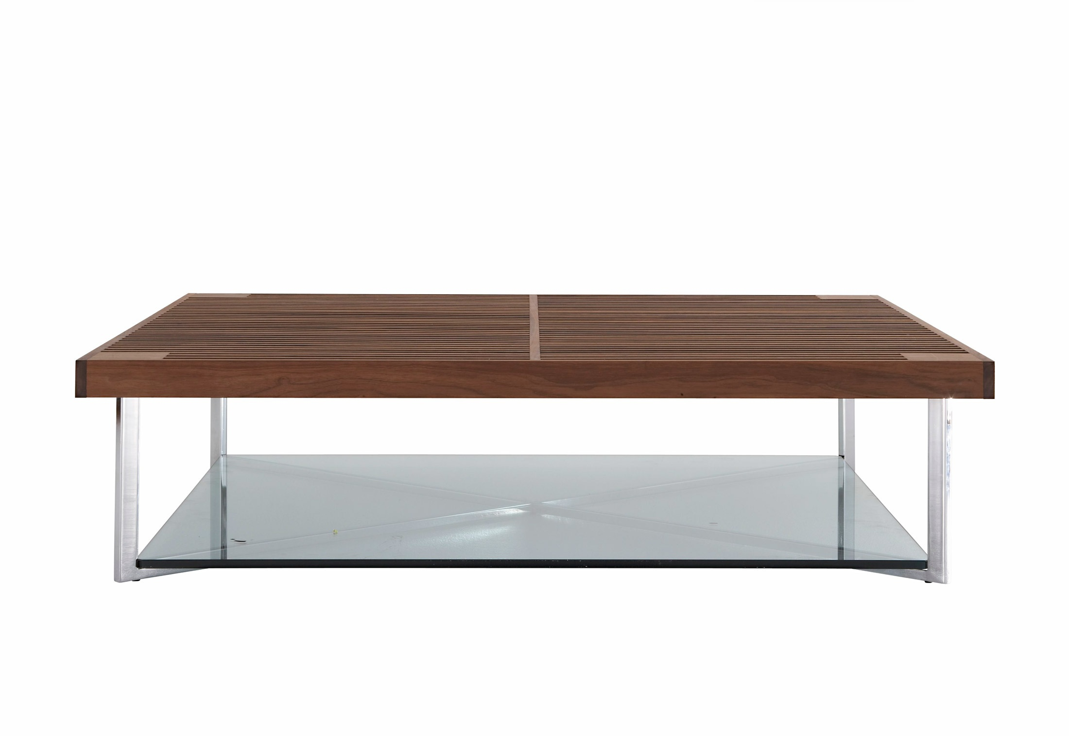 Coffee Table With Top Made Of Natural Wood Ponton Ligne Roset  # Muebles Bizzotto