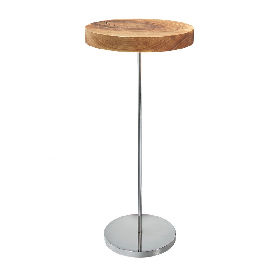 Pridivanny table with top made of solid wood chanterelle ligne roset luxury furniture mr for Table yoyo ligne roset