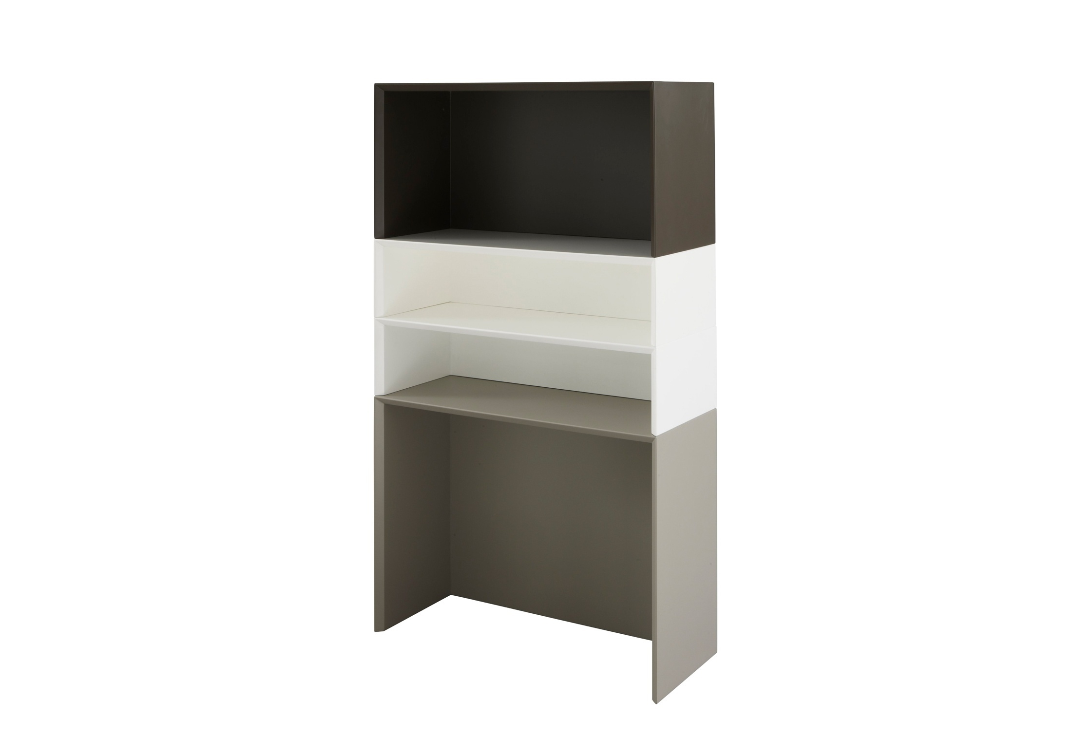 Modular Storage System Vertical Or Horizontal Tricolore Ligne  # Ligne Roset Meuble Tele