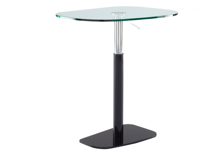 Bar table with glass table top piazza ligne roset luxury furniture mr for Table yoyo ligne roset