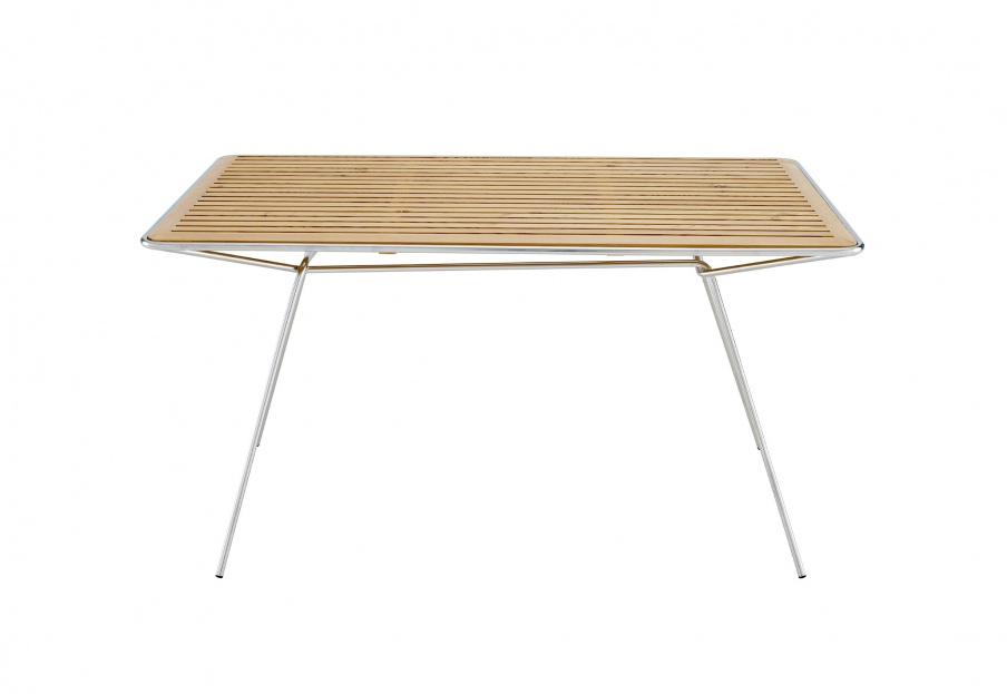 Dining table with metal legs RESILLE, Ligne Roset - Luxury furniture MR