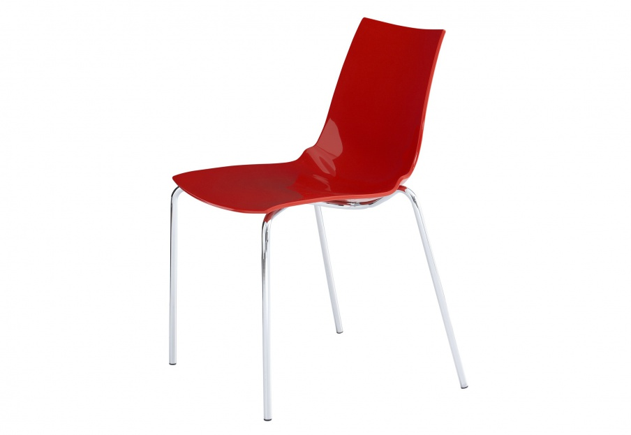 chair with metal legs and plastic seat paola ligne roset