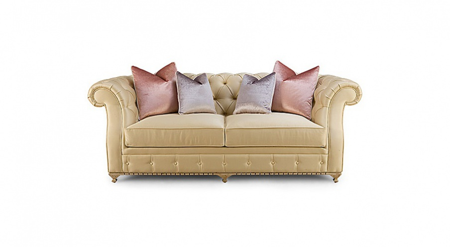 Two Seater Sofa In Fabric Mcqueen