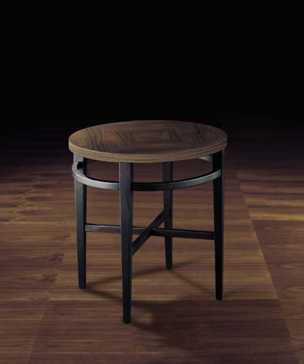 Round Coffee Table Made Of Solid Wood Rondouno Smania Luxury Furniture Mr
