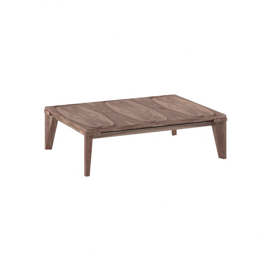 Low coffee table made of wood sharp smania luxury for Low coffee table wood