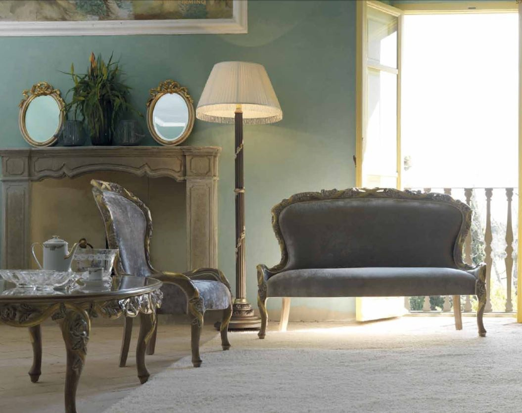 Oval Coffee Table With Glass Top Ambiente Giorno Savio