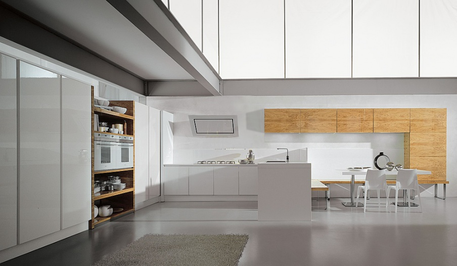 Kitchen kitchen set aster cucine contempora ulivo - Aster cucine outlet ...