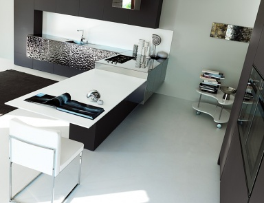 Kitchen (kitchen Set) Aster Cucine, Contempora, Acciaio