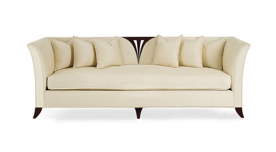 Three Seater Sofa In Fabric Verena