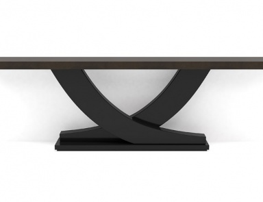 The console is natural wood with marble top roberto for Gil arredamenti