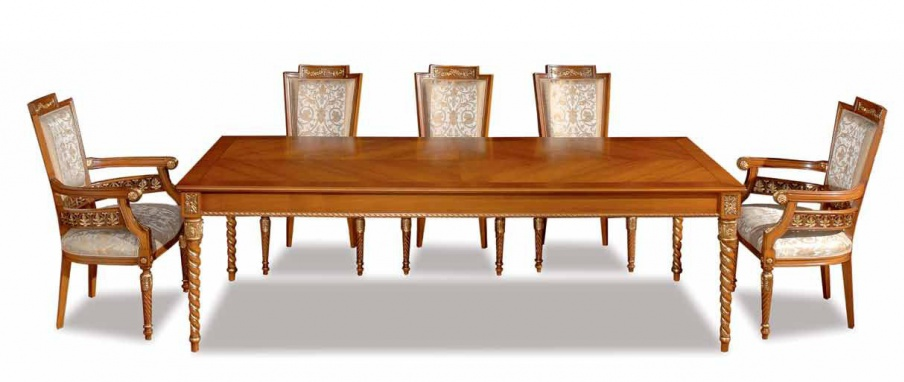 Dining room dining set Zanaboni Luxury furniture MR