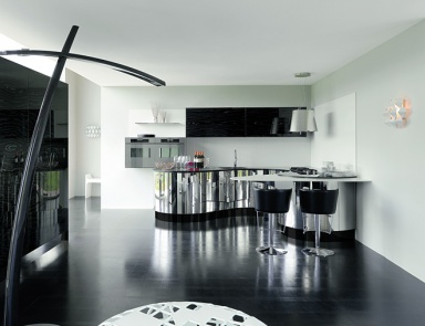 Kitchen (kitchen Set) Aster Cucine Domina, Acciaio