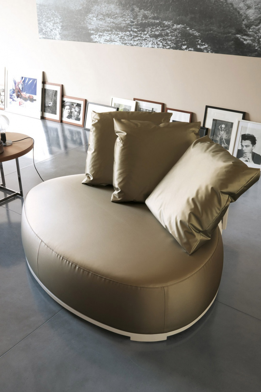 Compact Sofa Chair Is Very Wide