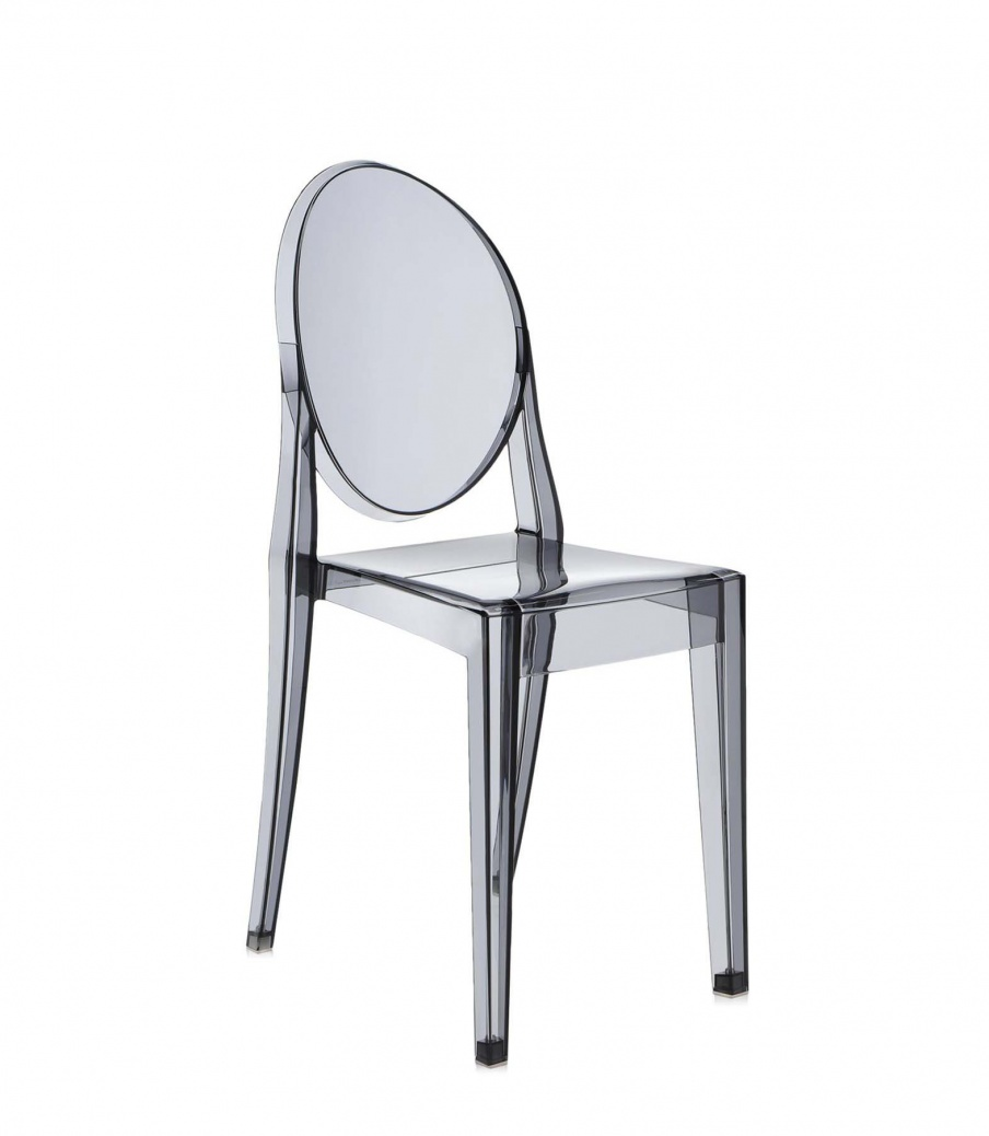 Chair made of polycarbonate Victoria Ghost, Kartell