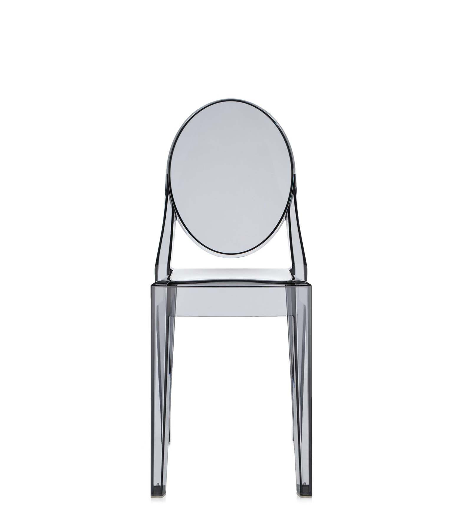 Chair made of polycarbonate Victoria Ghost Kartell Luxury