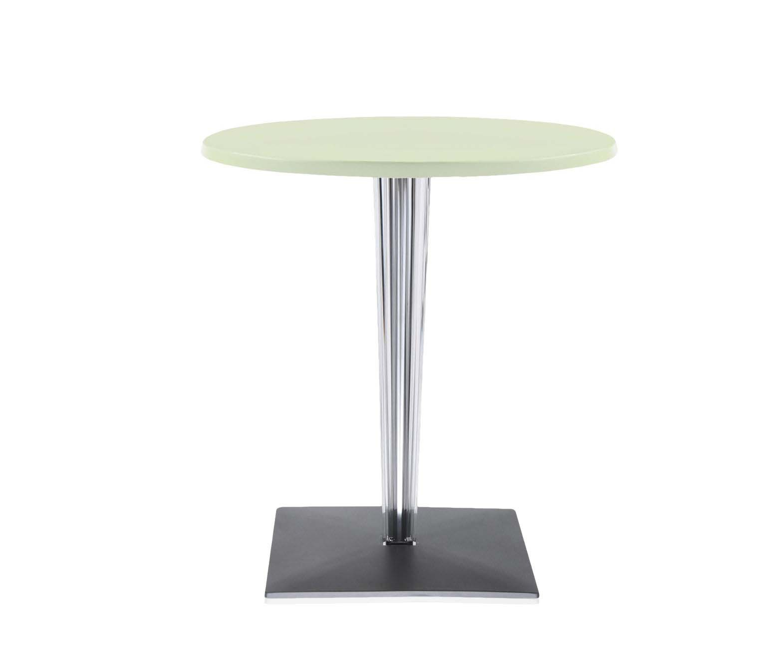 Kartell Round Table Round Table With Plastic Top Top Top Kartell Luxury Furniture