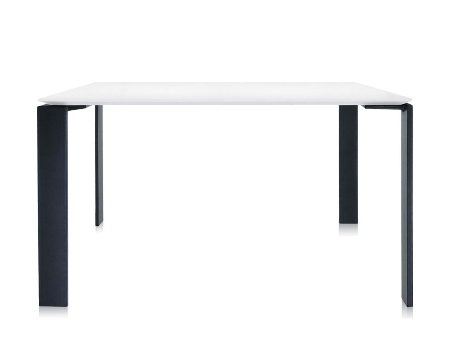 Dining Table With Four Metal Legs