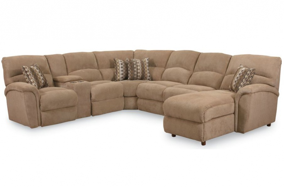 The modular sectional sofa is Grand Torino by Lane Furniture