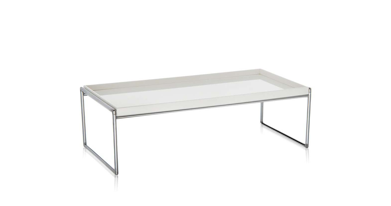 Coffee Table With Metal Frame Trays Kartell Luxury Furniture Mr
