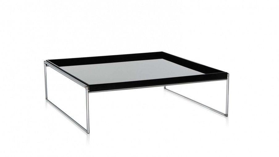 Coffee Table With Metal Frame Trays Kartell Luxury