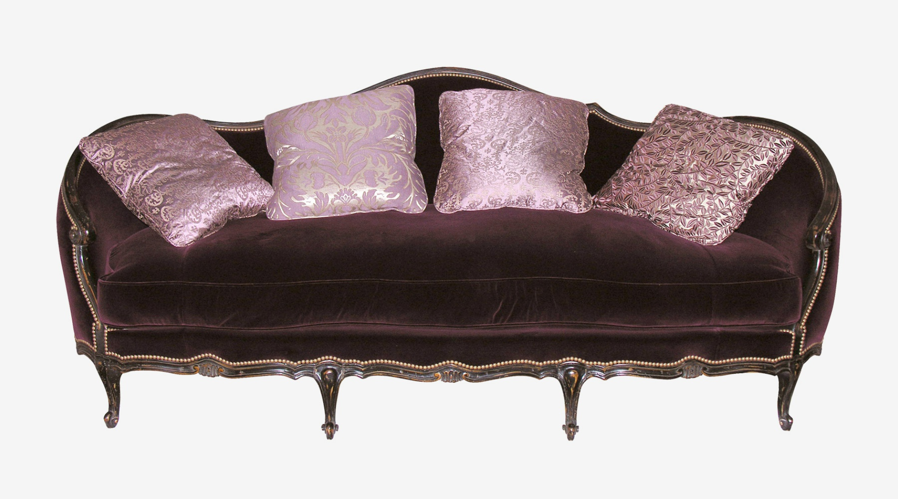 Sofa With Beech Frame And Fabric Upholstery D Description