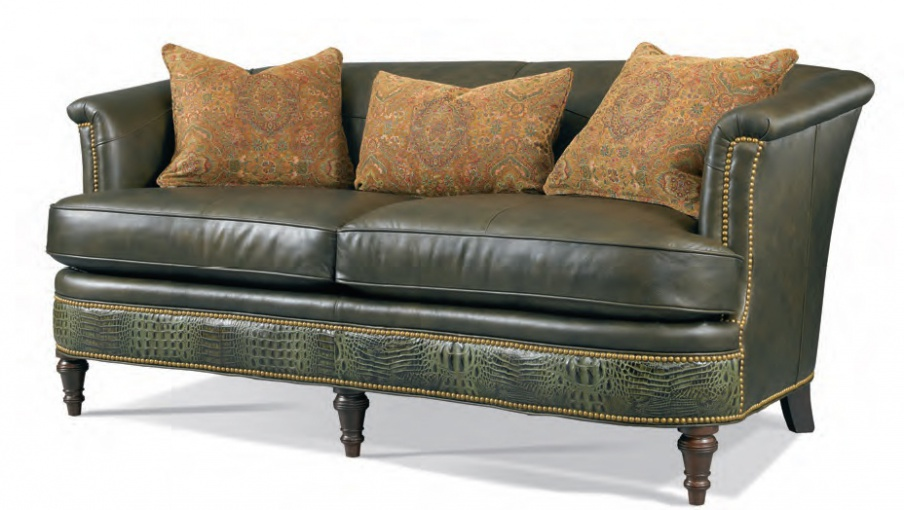 Three Seater Sofa Leather Whittemore Sherrill Luxury