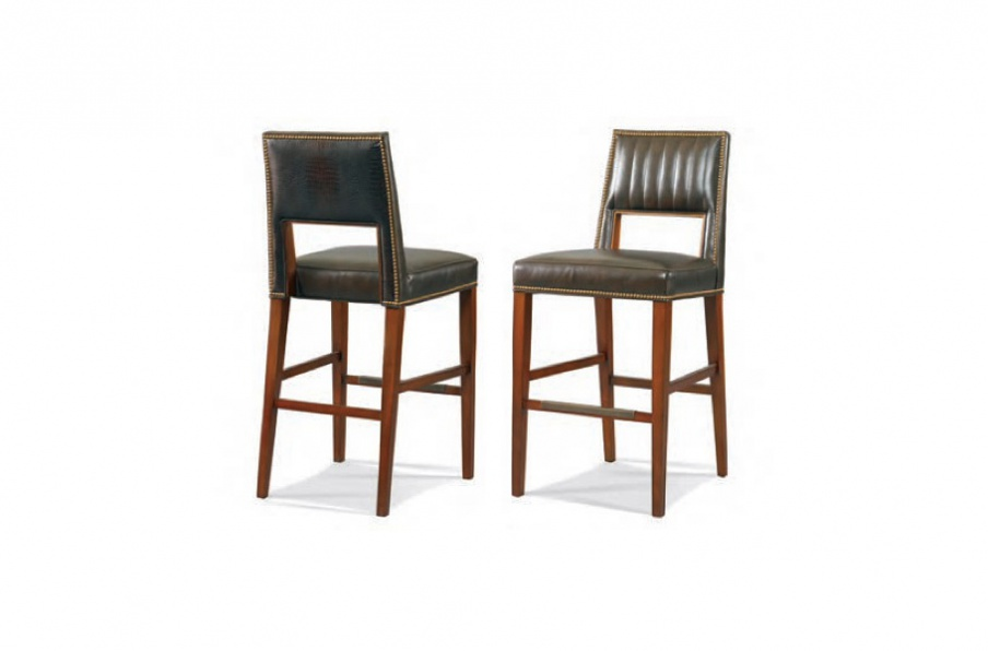 Bar Chair Leather Whittemore Sherrill Luxury Furniture Mr