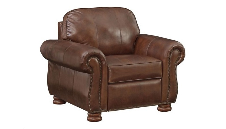 Chair Leather Recliner Benjamin, Where Is Thomasville Furniture Made