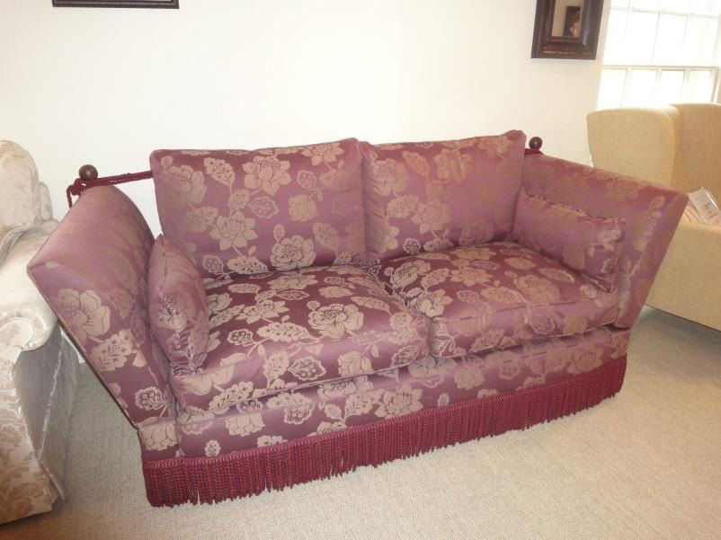 Wooden Frame And Fabric Upholstery