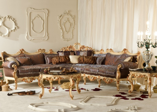 Living room (sofa set) Fratelli Radice
